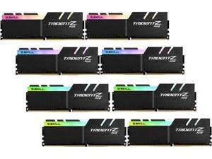 G.SKILL TridentZ RGB Series 128GB (8 x 16GB) 288-Pin DDR4 SDRAM DDR4 3200 (PC4 2