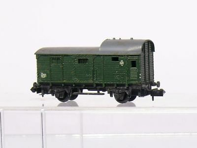 Toys & Hobbies Freight Cars Straightforward Arnold 4490 N 2 Assi Treno Merci Vagone Letto Pwg Db Grigio Scuro