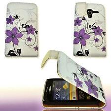 Design 1 Handy Flip Tasche Cover Case Hülle für Samsung S7500 Galaxy Ace Plus