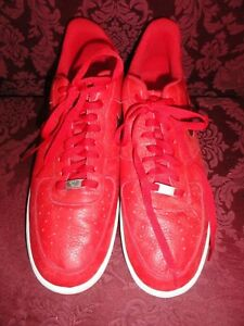 455298 Sz 14 Nike Details Air Force 82' Gum 1 Leather About Red Sole Sport 605 Af1 kiwPZTOXu