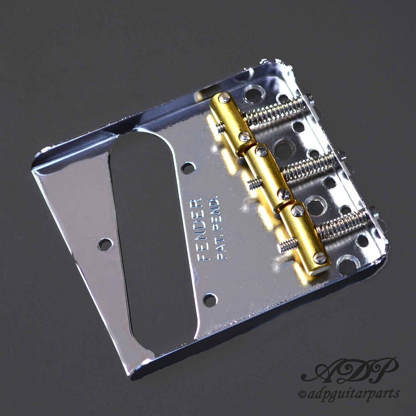 Cordier Telecaster Fender USA Pat-Pend  3xBrass SaddleTele Bridge  0990806100
