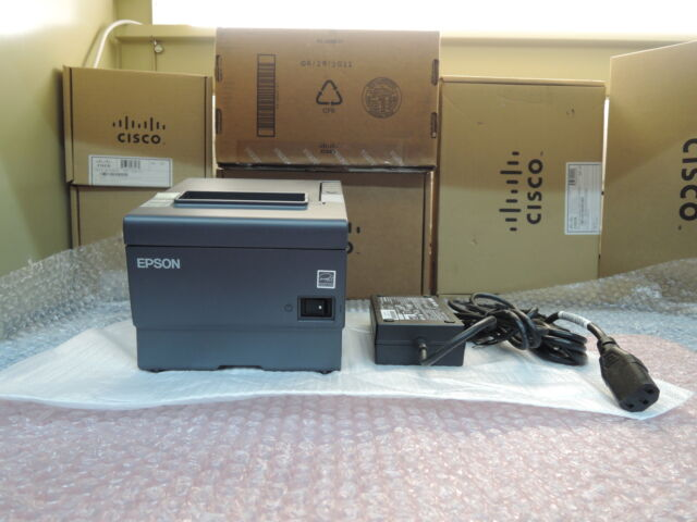 New but No Box Epson TM-T88V M244A SerialPort With Adapter.90days wrty real time