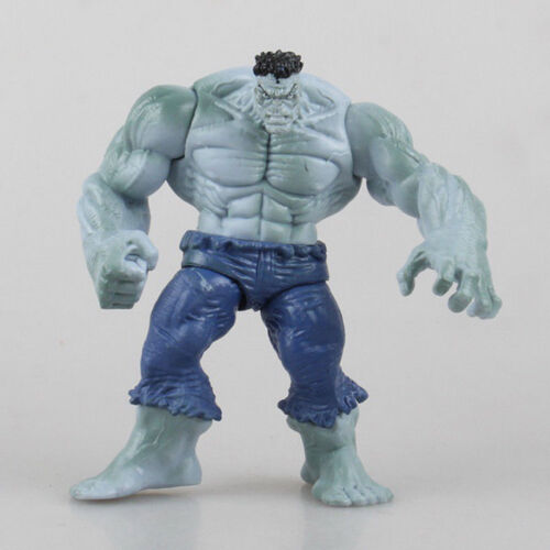 """3.75/"""" Marvel Avengers Gray /& Blue Hulk Action Figure Statue Collection Toy"""