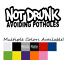 Not Drunk Avoiding Potholes Vinyl Decal JDM Car Sticker Turbo Honda Nissan Truck