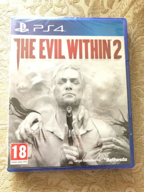 The Evil Within 2 Ps4 Brand New And Sealed + Free Metal Poster
