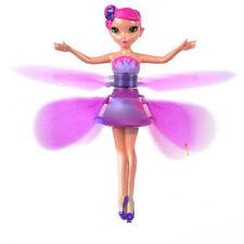 Flying princess elsa fairy doll sensor ramadan flutterbye eid toy flying fairy flutterbye flower fairy doll girl interactive toy perfect gift mightylinksfo