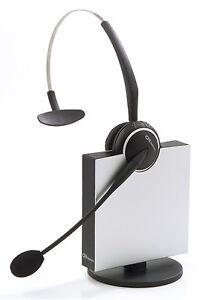 Refurbished-Jabra-GN-Netcom-GN9120-Mono-Flex-Boom-DECT-Wireless-Office-Headset