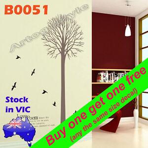 Large-Wall-Decal-Sticker-1-5m-Tree-Bird-office-School-hotel-decor-Reusable-B0051