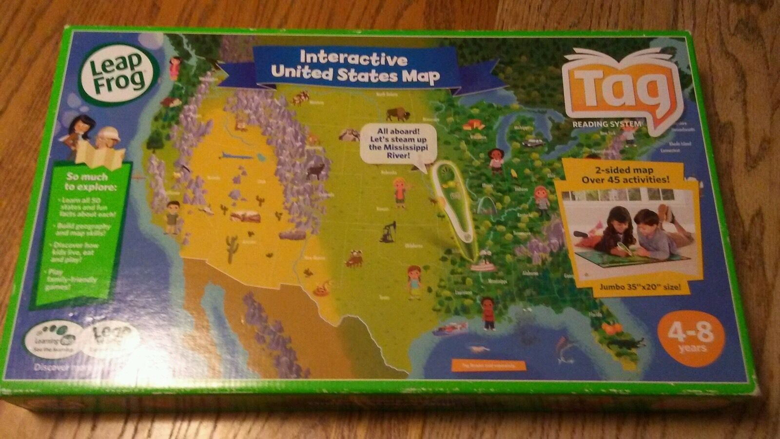 LeapFrog Tag Interactive United States Map | eBay