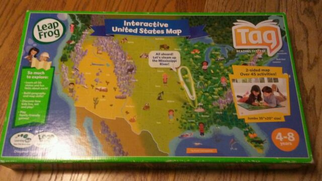 LeapFrog Tag Interactive United States Map for sale online | eBay