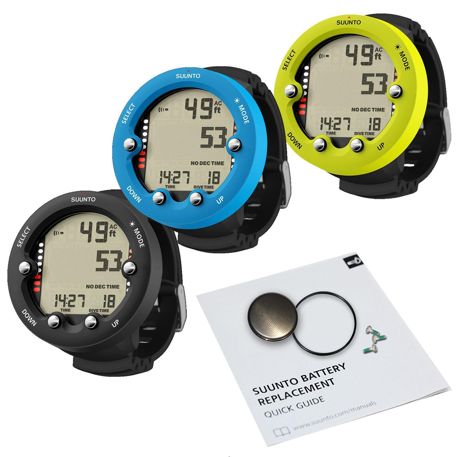 Suunto Zoop Novo Dive Computer with Battery Kit Set
