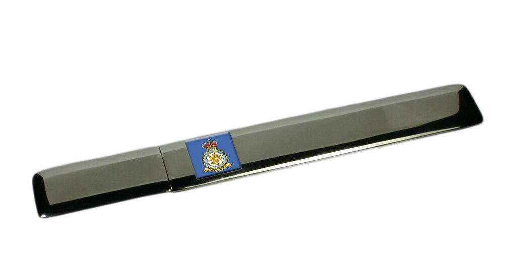 Royal Air Force 360 Escadron Gravé Étui Ouvre-Lettre