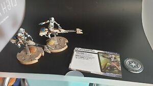 Peint-Star-Wars-Legion-74-Z-Speeder-Bikes-Core-Box-Wargaming-Fantasy-Flight
