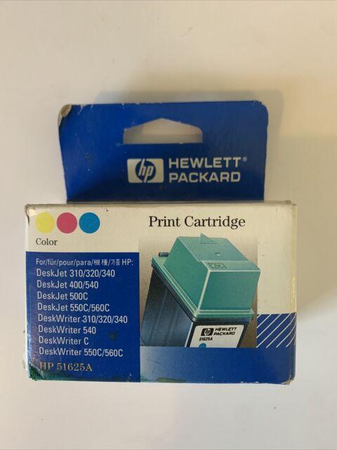 Genuine HP 25 TriColor Ink Toner Deskjet 310 320 340 400 420 HP 51625a