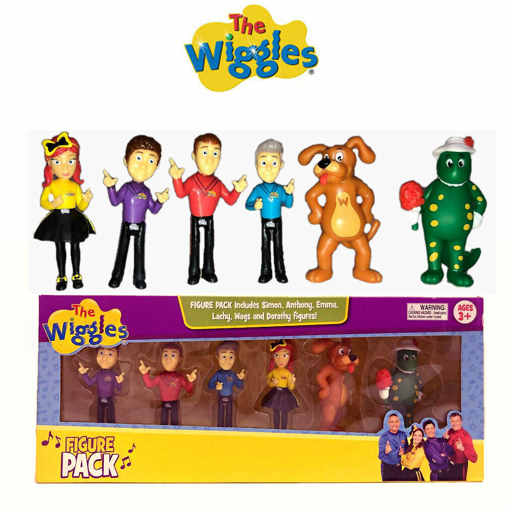 Excellent The Wiggles Birthday Cake Toppers Decoration Kids Toy Figurine Birthday Cards Printable Opercafe Filternl