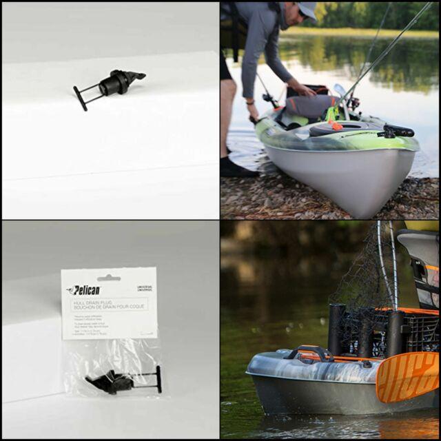 2 Kayak Pull T-Handle /& 4 Hull Drain Plug Replacement for Kayak Canoes Boat