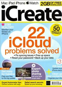 Icreate Magazine Issue 203 2019 22 Icloud Problems Solved Syncing Passwords 70992318810 Ebay