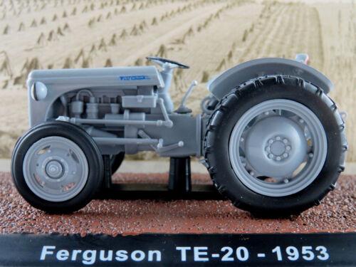 1953 Atlas 7517004 Ferguson TE-20 in hellgrau 1:32 NEU//OVP