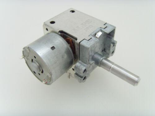 DP5T motor-driven rotary switch SRBAA25 ALPS SRBAA Motordrehschalter