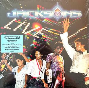 The Jacksons 2xLP Live - 40th Anniversary Edition, Gatefold - Europe