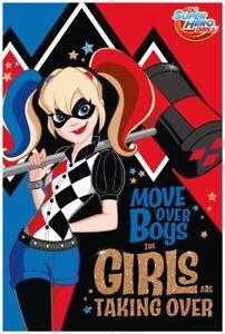 DC-Super-Hero-Girls-Harley-Quinn-POSTER-61x91cm-NEW-Girls-Are-Taking-Over-Boys