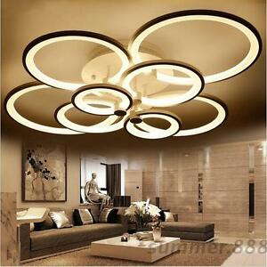 Image Is Loading Acrylic Modern Led Ceiling Lights Living Room Bedroom