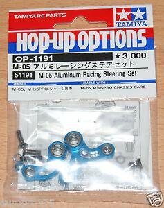 Tamiya-54191-M-05-Aluminum-Racing-Steering-Set-M05-M05Ra-M-05Ra-M06-M-06-NIP