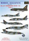 Model Alliance 1/48 RAF Alemania 1970-75 PARTE 3 #48188