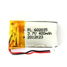 Internal Replacement Lipo Battery 400mA record 80mins for 808 #18 Car Key Camera