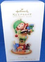 2009 Artistic Elf Hallmark Exclusive Club Ornament