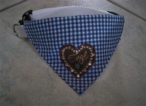 Halsbandlaenge-Trachten-36-50-cm-Hundehalstuch-Halstuch-Hundebekleidung-Tracht