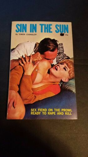 Sin In The Sun Chandler Nite Lite 1965 Sleaze//Fiction//Adult E-57