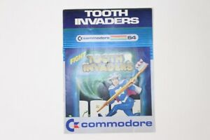 VTG-Commodore-64-Computer-Video-Game-Instructions-Manual-Tooth-Invaders