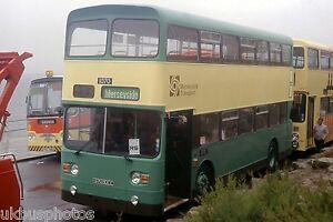 Merseyside-PTE-1070-Blackpool-1986-Bus-Photo