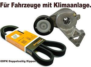 Keilrippenriemen-Satz-Riemenspanner-Spannrolle-Fuer-VW-GOLF-IV-4-1-6-1-8-T
