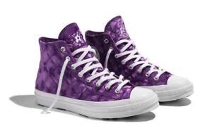 Mal uso póngase en fila Maravilla  CONVERSE CHUCK 70 HI X GOLF WANG LE FLEUR Quilted Velvet Tillandsia Purple  High | eBay