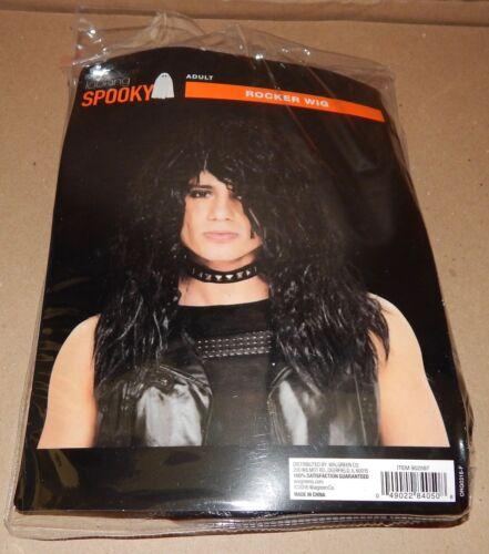 Halloween Character Wig Looking Spooky Adult Rocker Wig Elastic Lining 114M