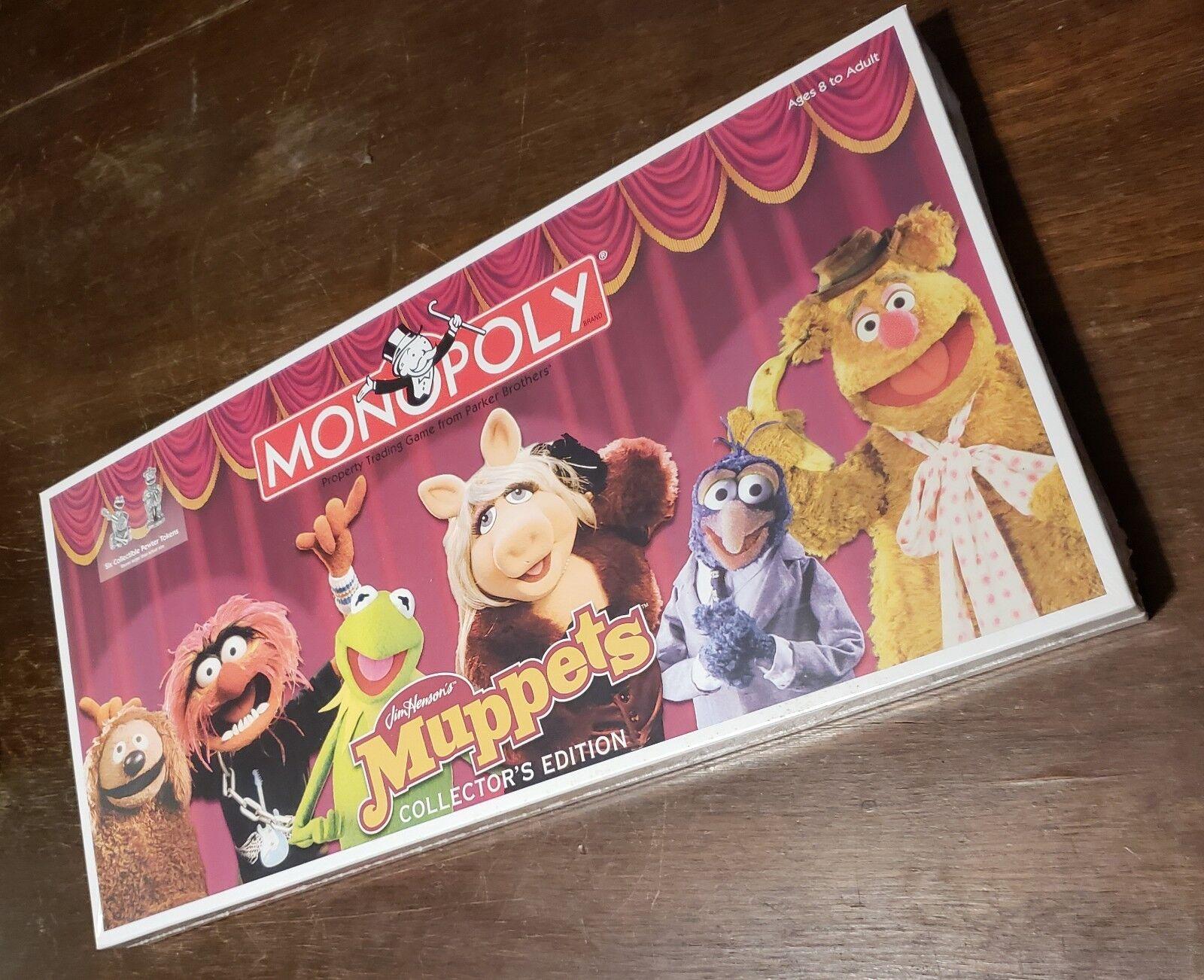 Muppets - monopol - noch in plastik