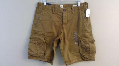 """NWT GAP Flex 12/"""" Cargo Shorts 30-31-32-33-34-36-38-40 Beige Black Green Camo"""