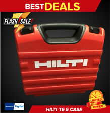 Hilti Te 5 Case Only Strong Reinforced Fast Shipping