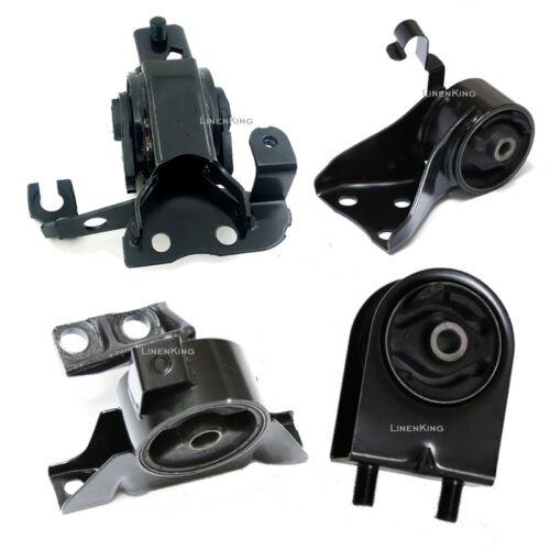 Manual Trans Fits 99-03 Mazda Protege 1.8L 2.0L Engine Motor /& Trans Set 4PCS