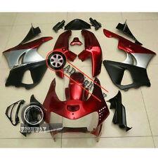 Red Black ABS Fairing Bodywork Set For Honda CBR900RR CBR 900 RR 919 98-99 oli