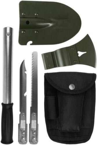 Spaten, Beil, Säge, Messer und Flaschenöffner Multifunktionswerkzeug 5-in-1