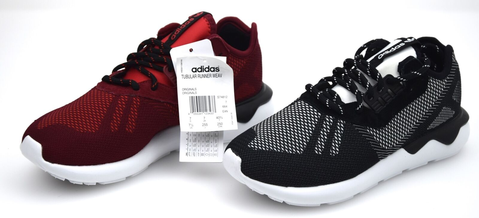 ADIDAS Homme SPORTS SNEAKER Chaussures CODE TUBULAR RUNNER WEAVE S74812 - S74813