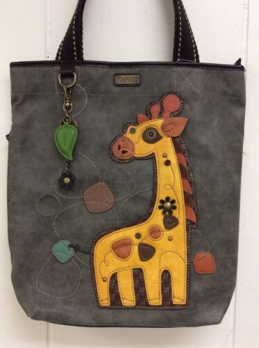 Chala Giraffe Safari Animal Diaper Baby Bag Everyday Zip Tote Shoulder New