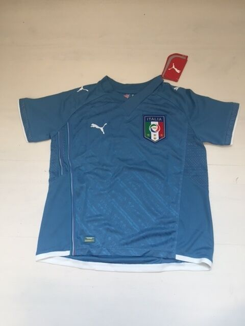 10171 ITALY PUMA T-SHIRT COMPETITION JERSEY MATCH JR SHIRT CONFEDERATIONS CUP