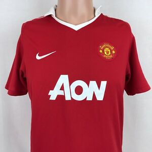10006272d18e5 Nike Boys Manchester United FC Red Devils Dri Fit Jersey XL Soccer ...