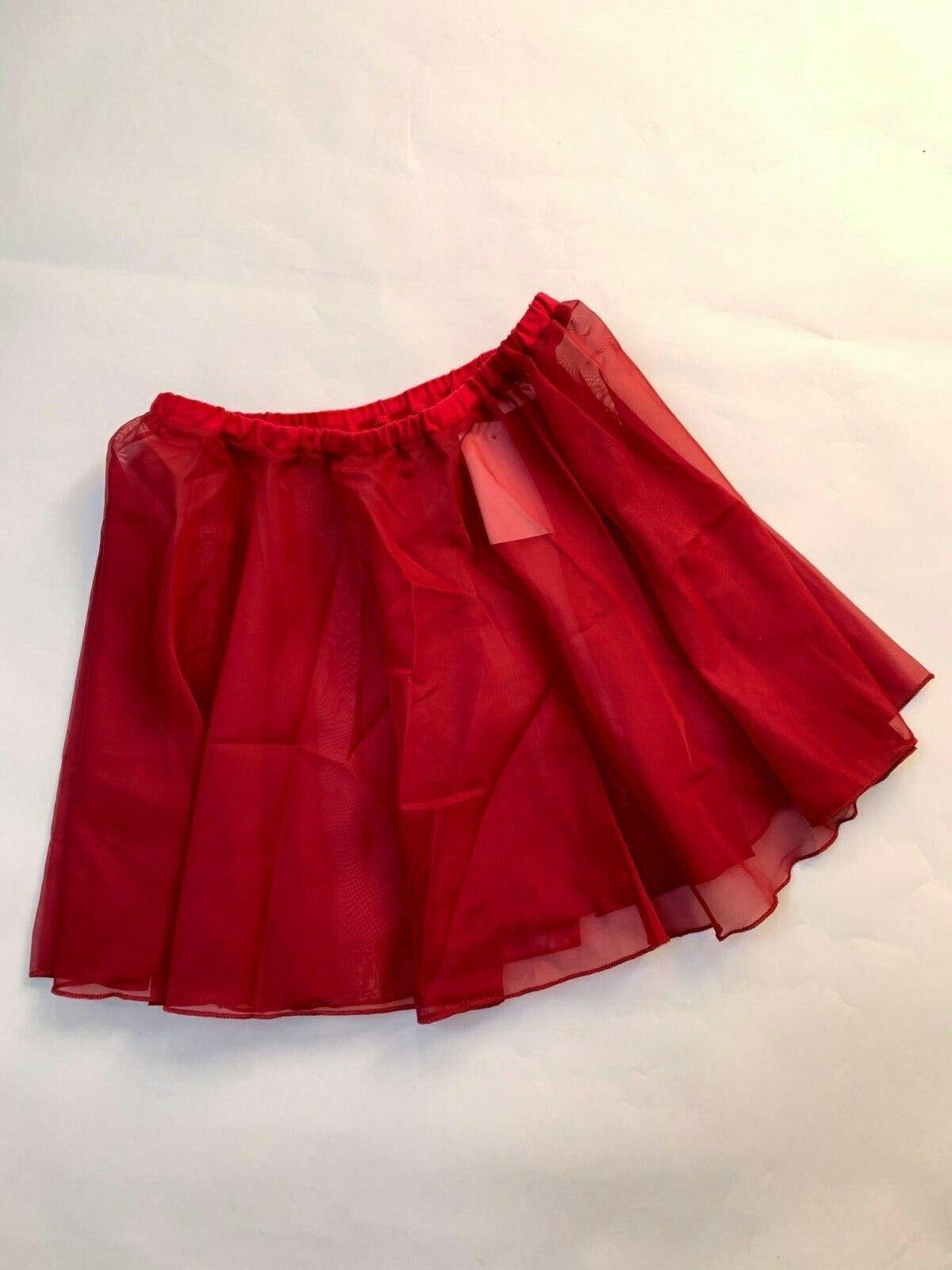 Roch Valley Plum Dancewear, Voile ballet skirt