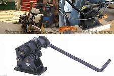 METAL ROD RING TUBE ROLLER BENDER FLAT ROUND STOCK WHEEL FORMER ROLLING MACHINE