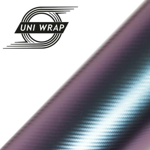 Air//Bubble Free *** STUNNING EFFECT*** Three Colours 3D Chameleon Vinyl Wrap